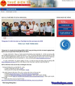 khai thuế điện tử hướng dẫn