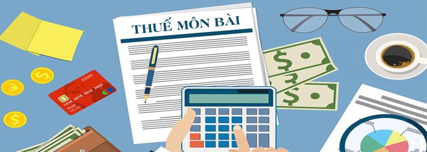 Khai thuế môn bài là gì
